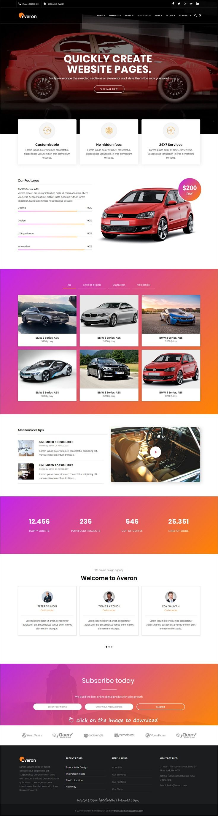 Best 25 car rental ideas on pinterest car rental places averon responsive business html template magicingreecefo Gallery