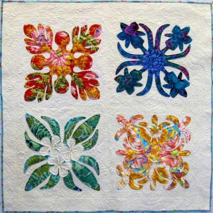 kinard leah day and elaine quilt project zinn motion free hawaiianquilt lyric hawaiian quilting crop the