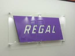 Image result for purple brushed aluminum sign material