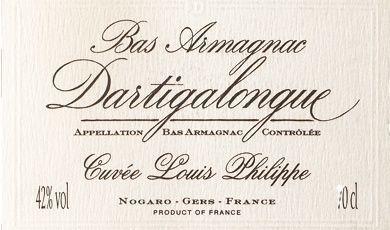 Bas Armagnac Cuvée Louis Philippe Dartigalongue