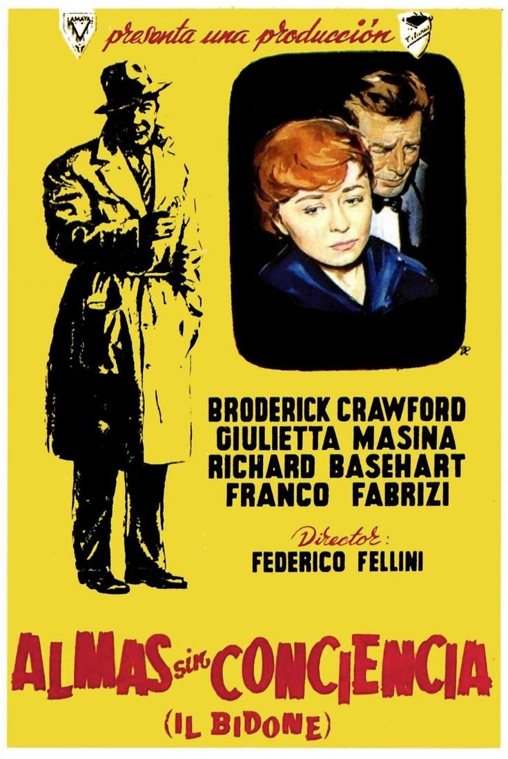 "Almas sin conciencia (1955) ""Il bidone"" de Federico Fellini - tt0047876"