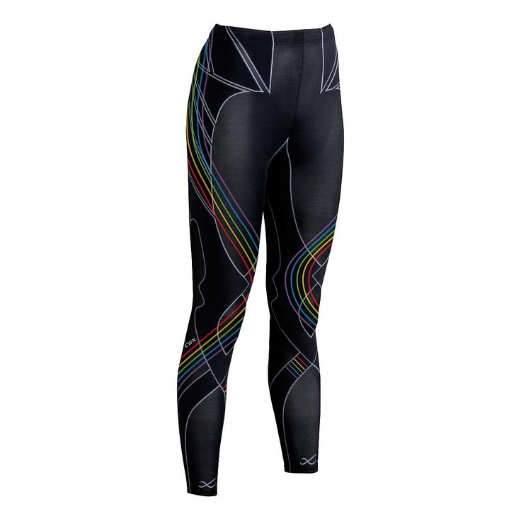 Womens CW-X Insulator Endurance Pro Fitted Tights at Road Runner Sports