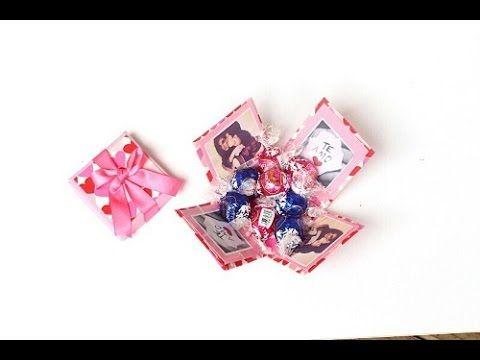 Lembrancinha feita com Caixa de Leite - YouTube