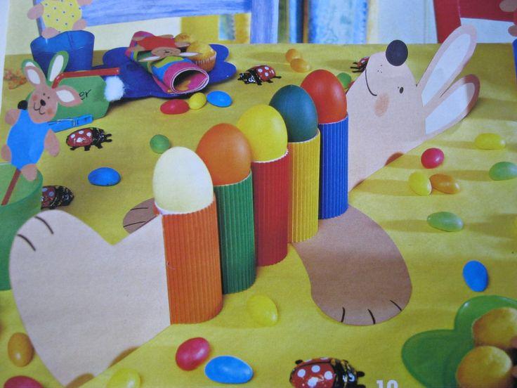 * Paashaas/eieren gooispel