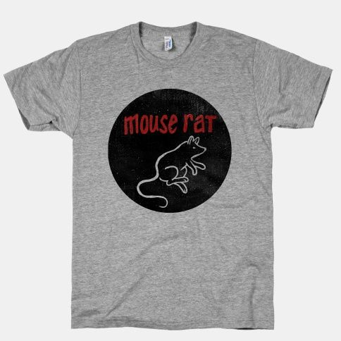 Rock this awesome Mouse Rat fan shirt to support Pawnee's most radical local band.  Free Shipping on U.S. orders over $50.00.