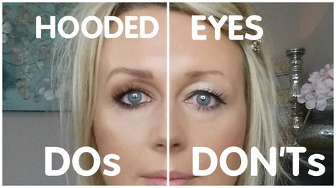 These are my tips and tricks for hooded eyes makeup. Hooded eyes are lovely, but as we get older they can make us look tired and make the eye shadow applicat...