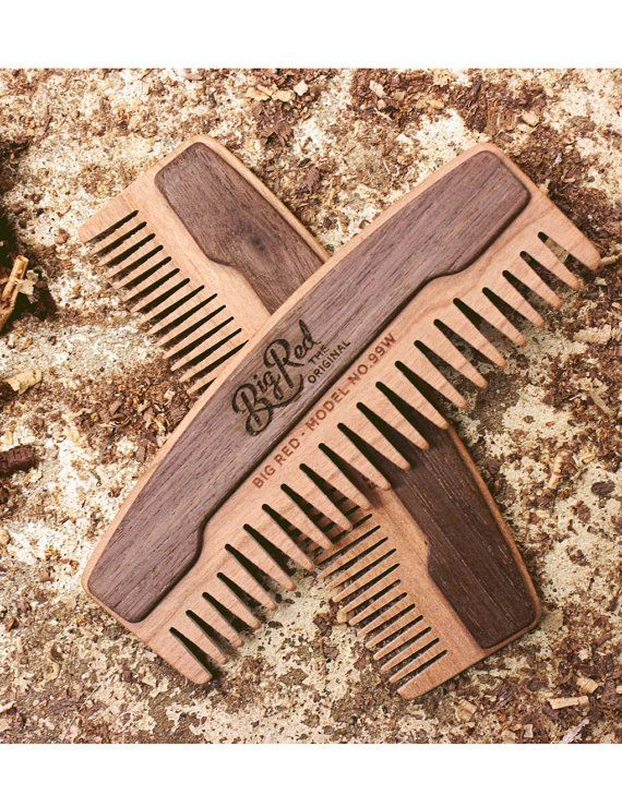 Big Red Beard Comb No.99W Beard Comb