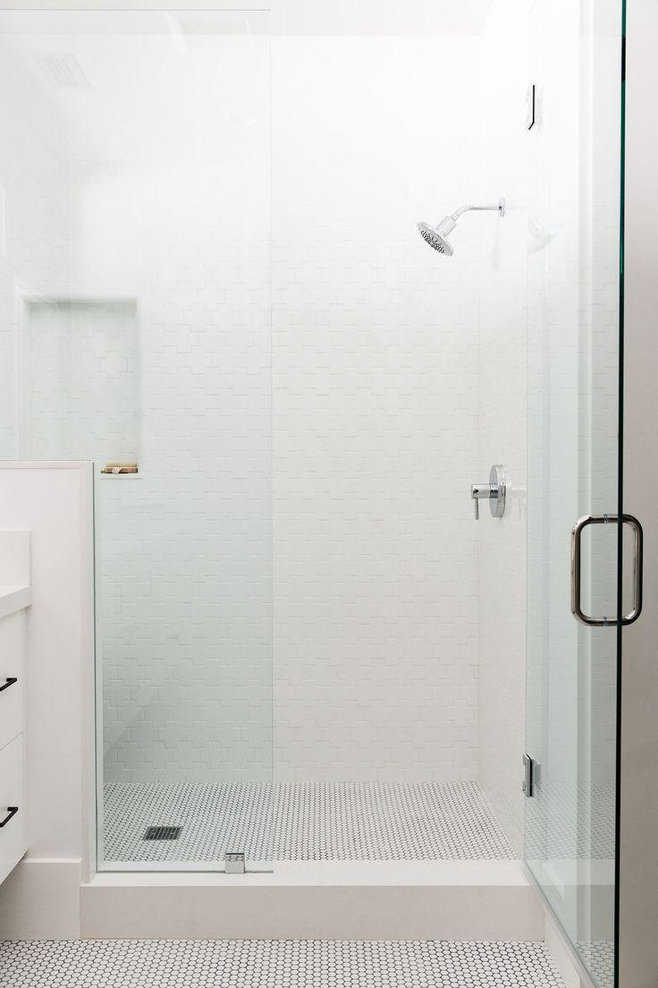 192 best bathroom inspiration images on pinterest room bathroom swiss cross tile shower studio mcgee
