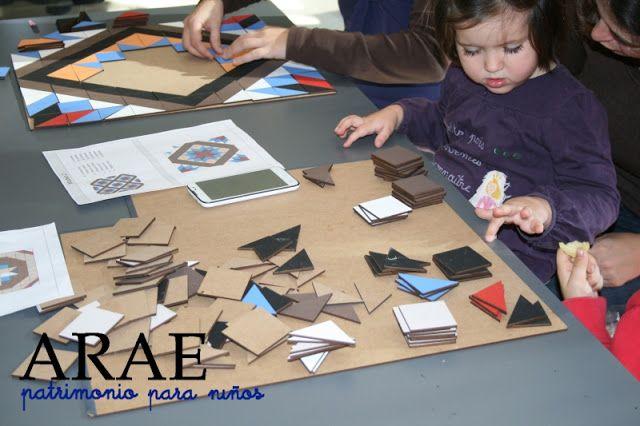 Patrimonio Industrial Arquitectónico: Taller infantil sobre mosaico Nolla, en Valencia