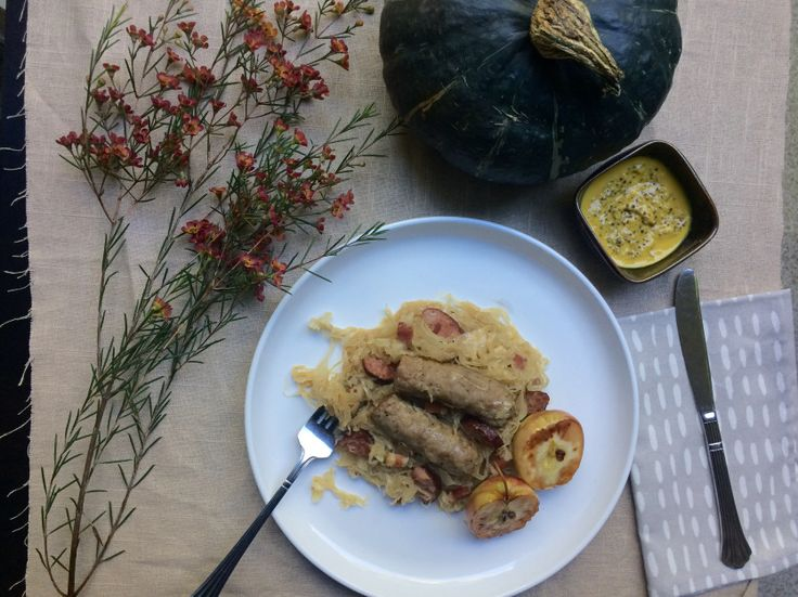 German Sauerkraut | Oktoberfest | Fall | Fall Dinner | German Food | German Recipe | Season and Serve Blog