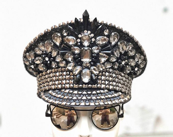 FREE SHIPPING 'Crowning Glory' Military Hat. Captain