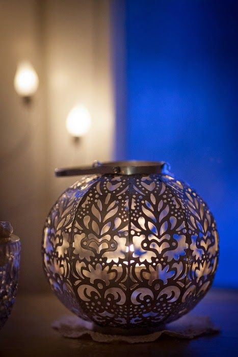Candle holder from Pentik.