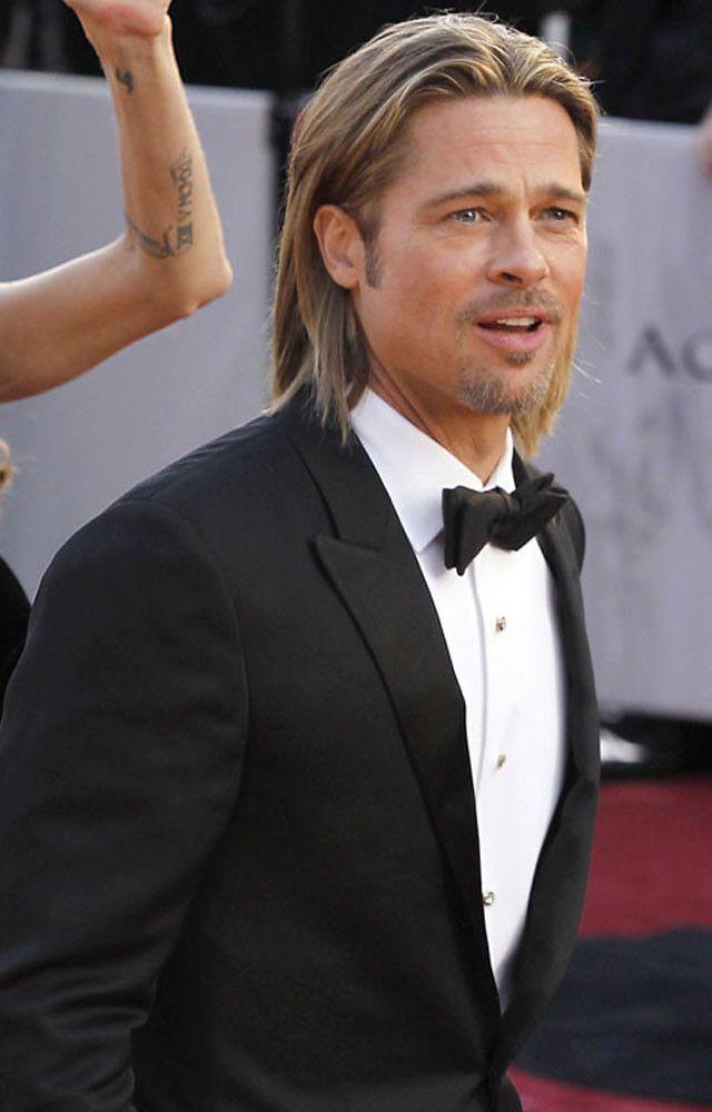 Bigote, barba, perilla, afeitado… Brad Pitt es todo un kamikaze del grooming