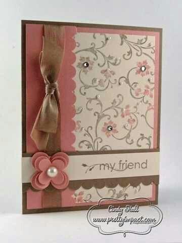 send a pretty card after the wedding