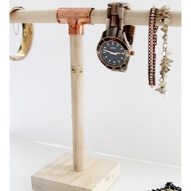 17 best images about copper piping on pinterest jewelry for Copper pipe jewelry stand