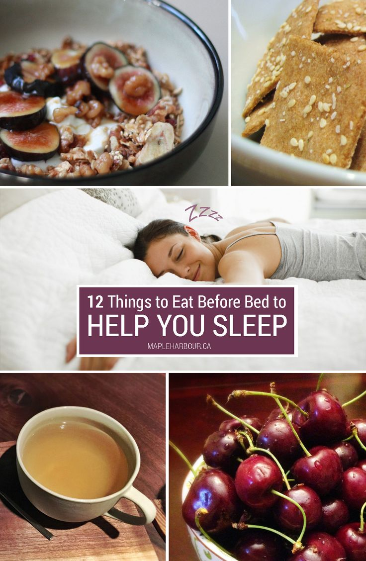 Do you snack after supper? Always crave a little something to eat right before bed? We've got 12 smart food recommendations to snack on before bed that will not only satisfy your appetite but will enable you to catch more Z's.