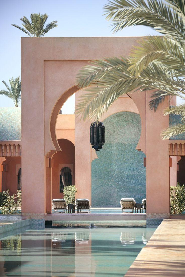Amanjena Marrakech Morocco Hotel Review Morocco Hotel Morocco Travel Marrakech Travel