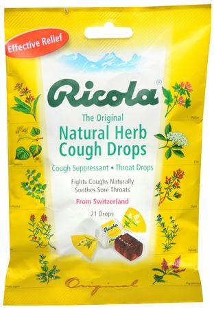 Ricola Natural Herb Cough Drops Original 21 Each