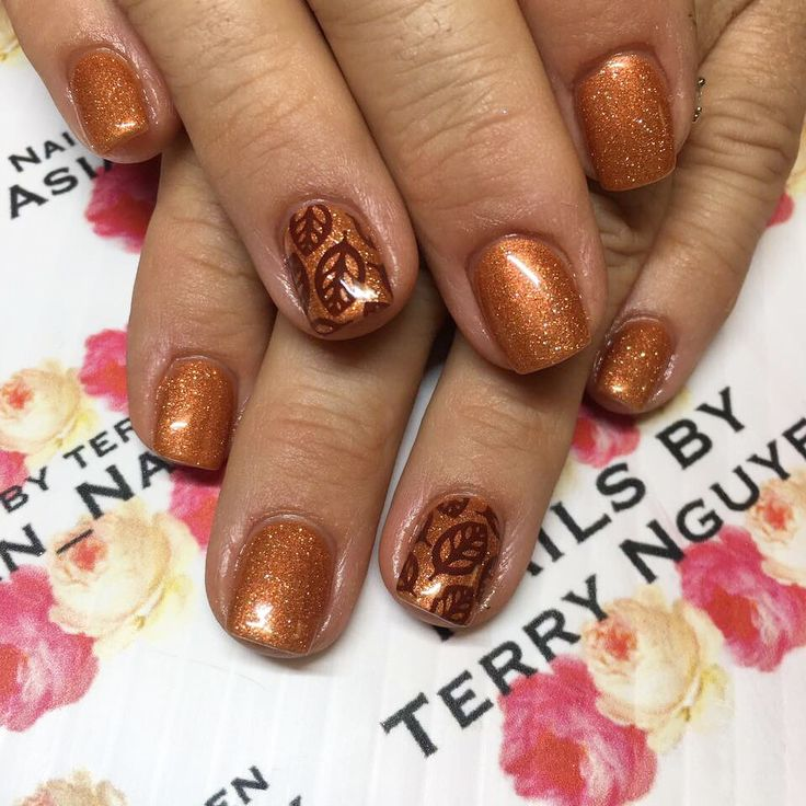 310 Best Fall Nails Images On Pinterest