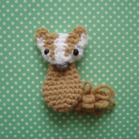 Links to several crochet woodland creature patterns!!!  This one is so sweet!