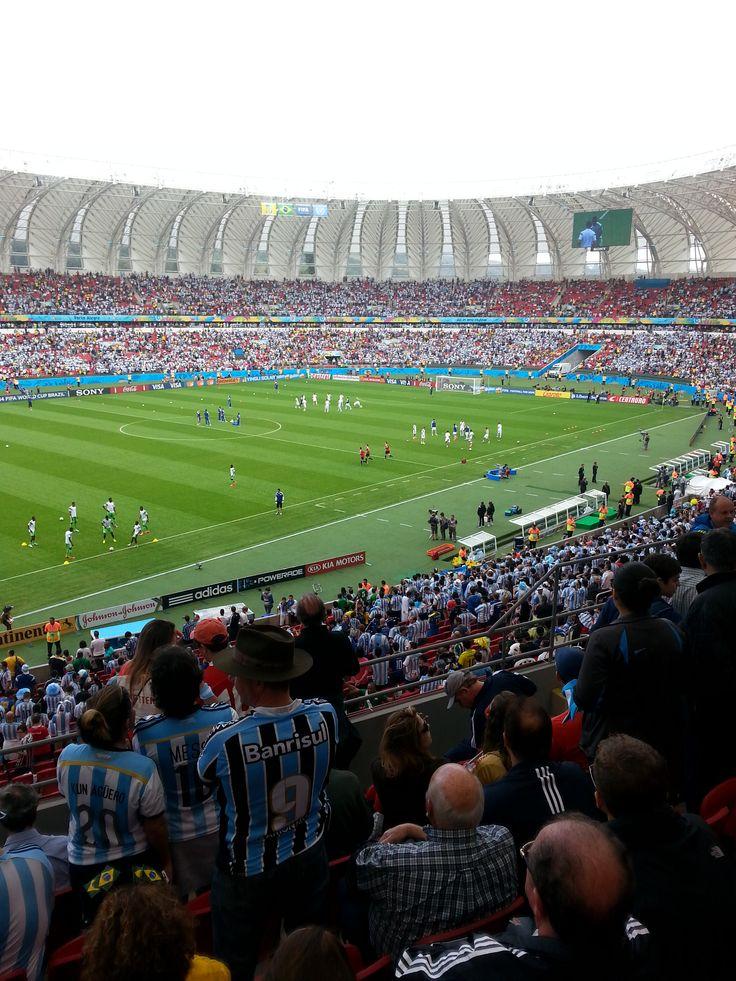 Torcida Argentina uma festa única...