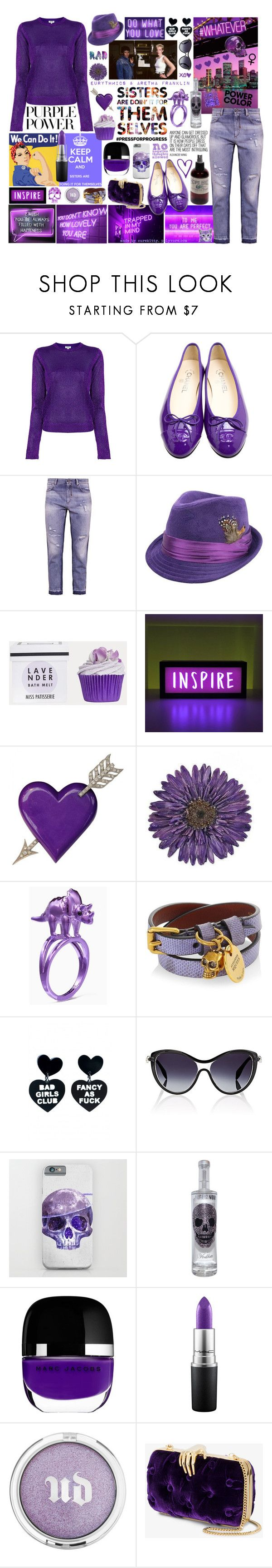 """""""Sister's Are Doin' It For Themselves!"""" by curekitty ❤ liked on Polyvore featuring Kenzo, Sportmax Code, Yves Saint Laurent, NOVICA, Kate Spade, Alexander McQueen, Marc Jacobs, MAC Cosmetics, Urban Decay and Benedetta Bruzziches"""