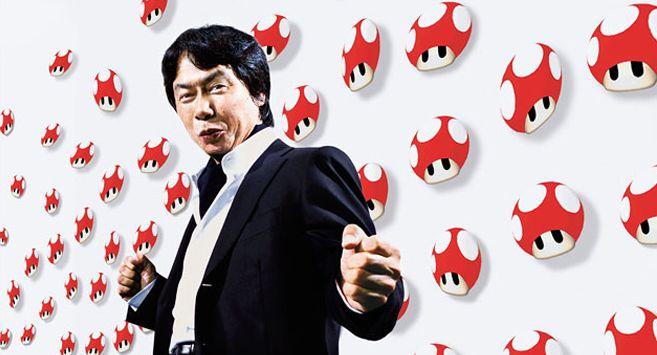 Shigeru Miyamoto inventor of Nintendo 3D worlds