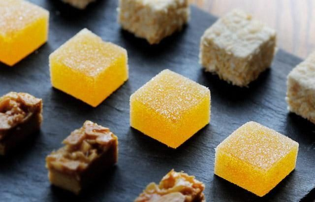 Dominic Chapman's jelly recipe takes exotic passion fruit and tart lemons to make a delightful dessert. A beautiful treat, this fruit jelly is easy to make.