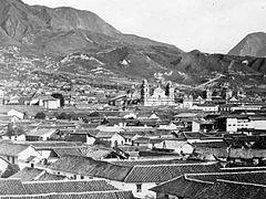 Bogotá en 1868.