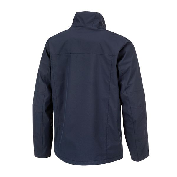 XD Shell all weather sustainable jacket, made of 55% recycled polyester and 45% virgin polyester with a 100% brushed mesh lining, down free. With taped seams. Standard exchangeable zipper puller in black