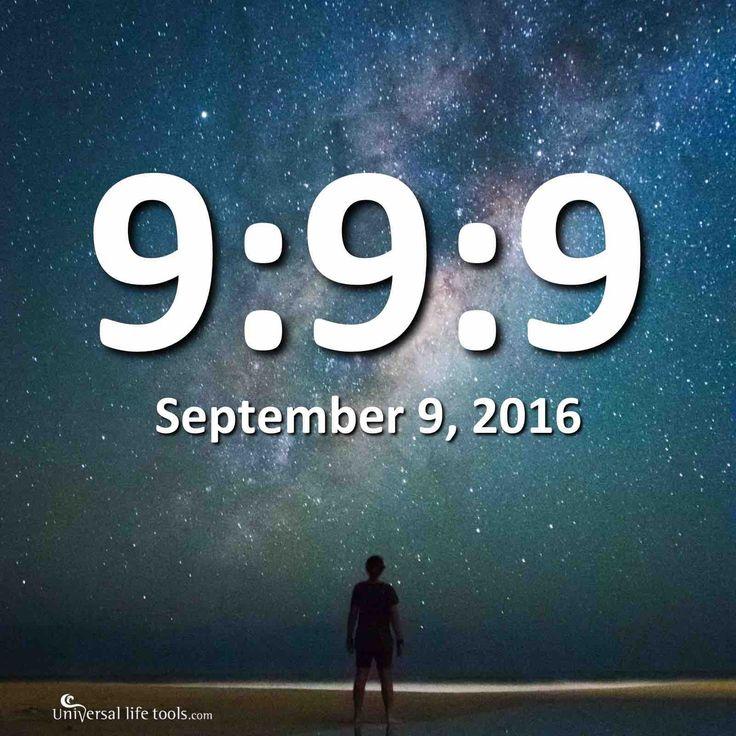 De betekenis van 9:9:9 – 9, 18 en 27 september 2016 door Simone M Matthews Woensdag 7 september 2016 Aanstaande vrijdag, 9 september is binnen de numerologie een behoorlijk belangrijke dag, want met ons allen omarmen we een '9' dag, in een '9' maand, in een '9' jaar (2+0+1+6=9) … . 999 dag van krachtige …