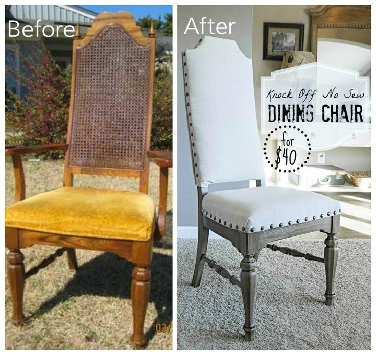 12 Goodwill Shopping Secrets Revealed. Kitchen Chair RedoBlue Dining Room  ...
