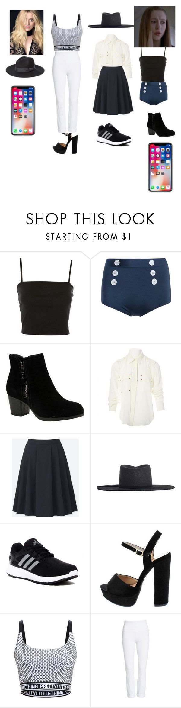 """Ootd Jane and Trya Kjell"" by queen-p-bxtch on Polyvore featuring Topshop, Skechers, Tom Ford, Uniqlo, Zimmermann, adidas and Lyssé Leggings"