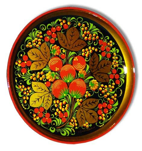 Russian folk art - HOHLOMA-russian art
