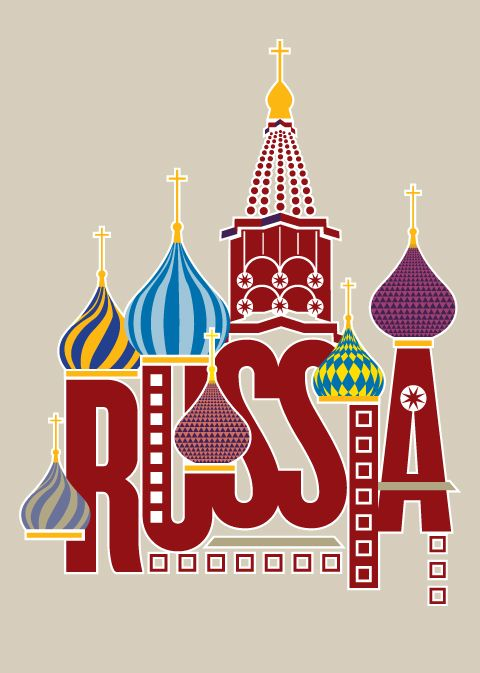 """Russia Poster"" by klippartdesign.deviantart.com"