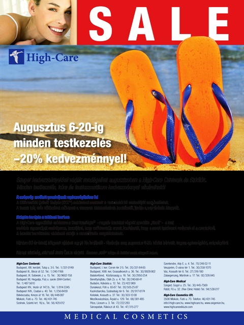 AKCIO -20% www.highcareexkluziv.hu