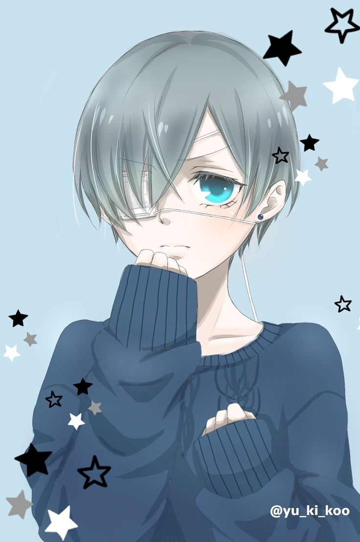 Ciel Phantomhive fanart | He's looking so kawaii like a smol little bean that he is