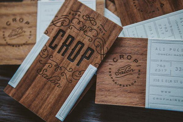 Business card design by Crop Salon via @tierataylor #BusinessCards #Design