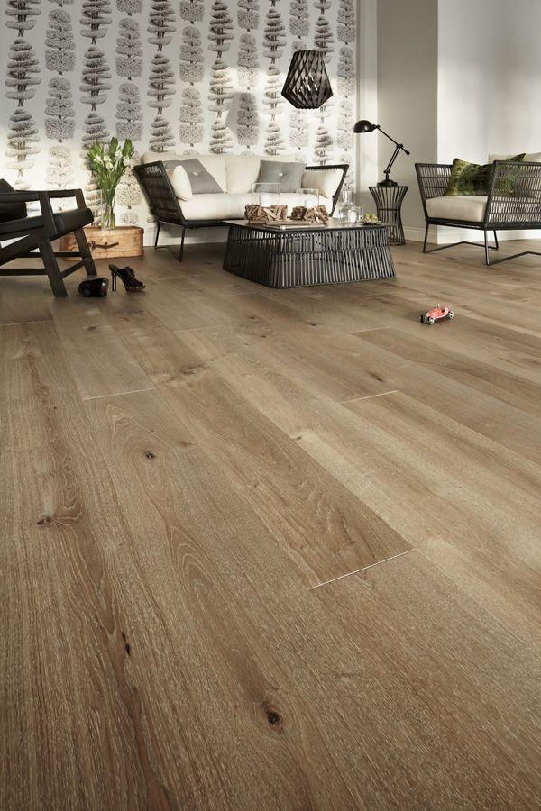 #Timberwise Oak parquet Vintage SUOMU, nature like color, authentic wooden flooring outlook. #Decor #Interiordesign #Home #Mataro #Barcelona www.decorgreen.es