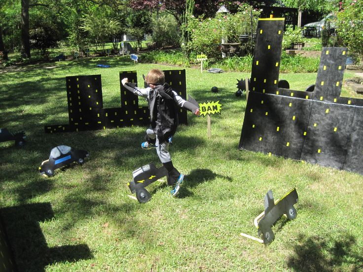 10 best superhero obstacle course images on Pinterest Birthdays