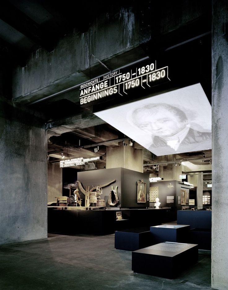 Exhibition, permanent, Ruhr Museum, Essen – Germany, by Jangled Nerves with HG Merz (both from Stuttgart)