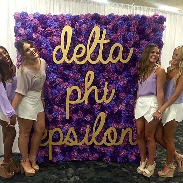 Recruitment season is in full bloom #dphie100  . . . #ΔΦΕ #deepher…