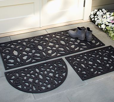 Leaf Rubber Doormat #potterybarn One For The City And A Couple For The  Beach.