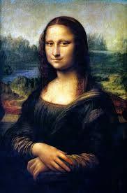 Renessanssi - Leonardo da Vinci - Mona Lisa (taustaa).