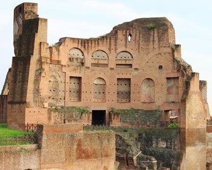 Augustus' Villa on Palatine Hill - 32 B.C. After spending years and millions in excavations, they found paintings almost perfectly intact!