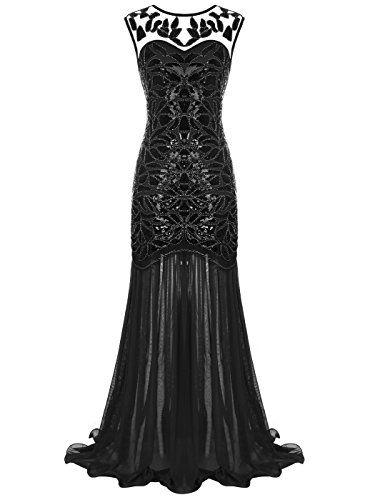 FAIRY COUPLE - Vestito - linea ad a - Senza maniche - Donna Black M ... 1b24a9161f0