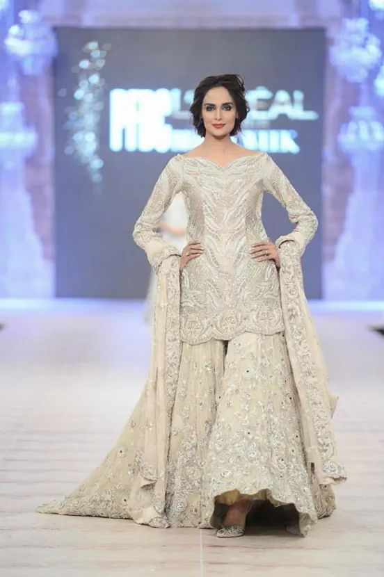 pakistani designer Amara khan dress....presented in PFDc loreal bridal week 2014 ...pinned by sidrah younas
