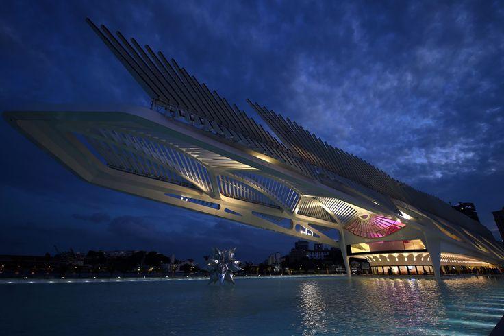 Im genes del museo del ma ana dise ado por el arquitecto - Arquitecto espanol famoso ...
