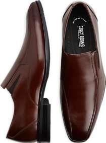 Stacy Adams Fairchild Tan Slip-On Shoes