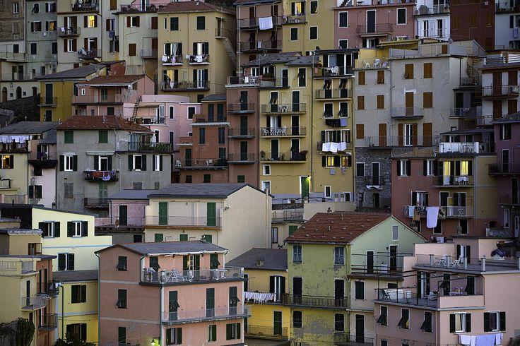 Photograph Houses at Manarola Italy by Vath. Sok on 500px